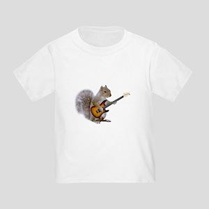 Squirrel Guitar Toddler T-Shirt