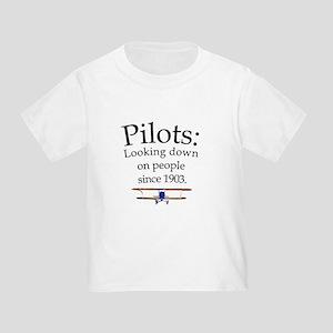 Pilots: Looking down on peopl Toddler T-Shi
