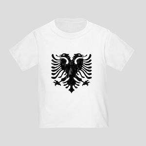 Albanian Eagle Emblem Toddler T-Shirt