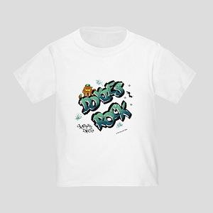Doxies Rock Graffiti Toddler T-Shirt