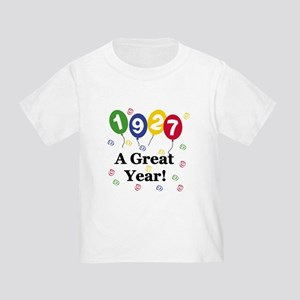 1927 A Great Year Toddler T-Shirt