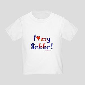 I love my Sabba Toddler T-Shirt
