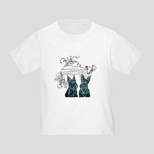 Scottish Terrier Proverb Toddler T-Shirt