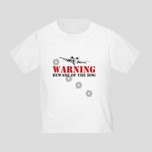 A-10 Warthog witty slogan Toddler T-Shirt