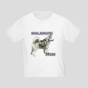Malamute Mom4 Toddler T-Shirt