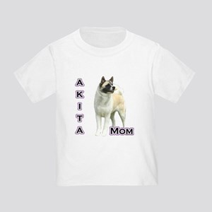 Akita Mom4 Toddler T-Shirt