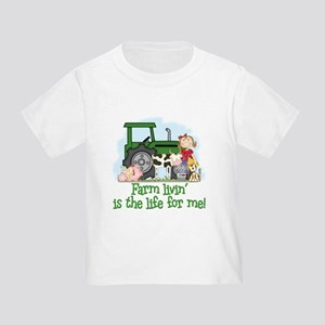 Farm Livin' (Girl) Toddler T-Shirt