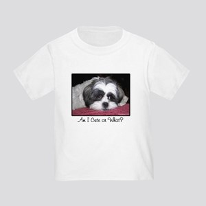 Cute Shih Tzu Dog Toddler T-Shirt