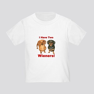 Two Wieners Toddler T-Shirt