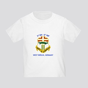 3rd BN 6th INF Toddler T-Shirt