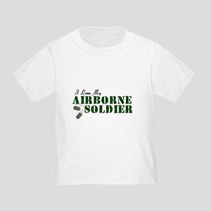 I Love My Airborne Soldier Toddler T-Shirt