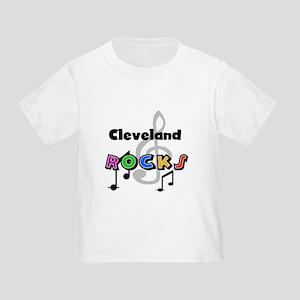 Cleveland Rocks Toddler T-Shirt