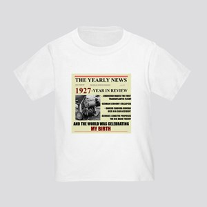 born in 1927 birthday gift Toddler T-Shirt