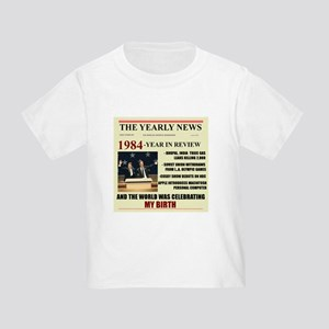 born in 1984 birthday gift Toddler T-Shirt