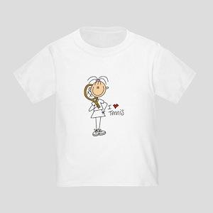 Girl I Love Tennis Toddler T-Shirt