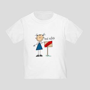 Real Estate Agent Toddler T-Shirt