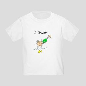 Girl I Swim Toddler T-Shirt