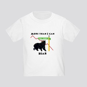 More Than I Can Bear Market Toddler T-Shirt