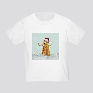 Winter Airedale Toddler T-Shirt