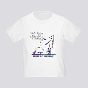 Three Day Eventing Toddler T-Shirt