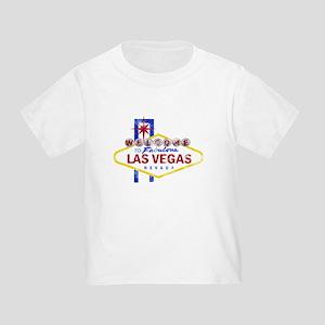 Las Vegas Sign Distressed Toddler T-Shirt