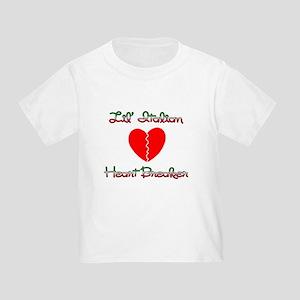 Lil' Italian Heart Breaker Toddler T-Shirt