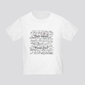 Declaration of Independence Toddler T-Shirt