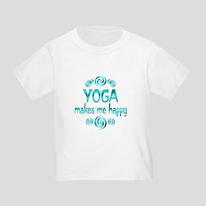 Yoga Happiness Toddler T-Shirt