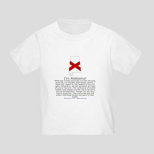 Alabama Toddler T-Shirt