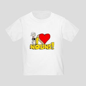 I Heart Nouns - Schoolhouse Rock! Toddler T