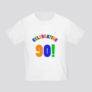 Rainbow 90th Birthday Party T-Shirt