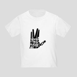 Live long and Prosper Toddler T-Shirt