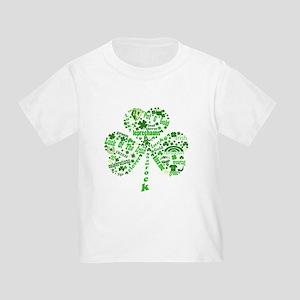 St Paddys Day Shamrock Toddler T-Shirt
