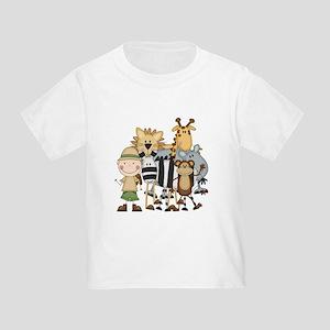 Boy on Safari Toddler T-Shirt