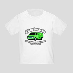 Vanstock 76 - White Text Toddler T-Shirt