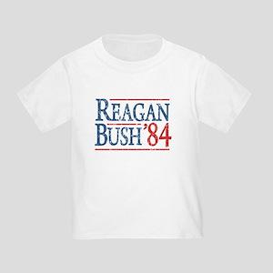 Reagan Bush 84 retro Toddler T-Shirt