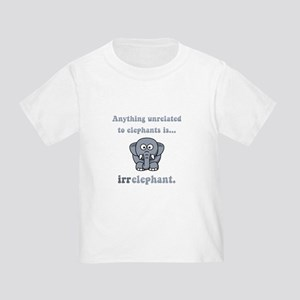 Irrelephant Toddler T-Shirt
