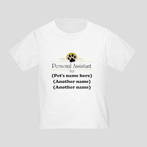 Pet Personal Assistant (Multiple Pets) Toddler T-S