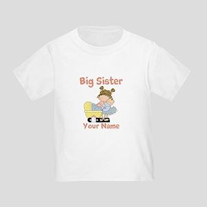 Big Sister Custom Toddler T-Shirt