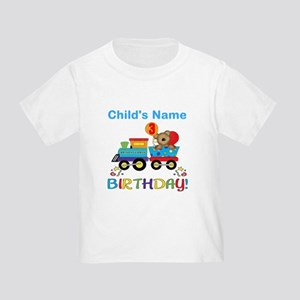 3rd Birthday Train Toddler T-Shirt