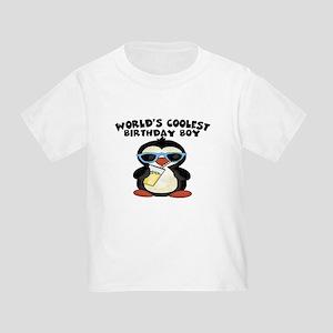 World's coolest birthday boy Toddler T-Shirt