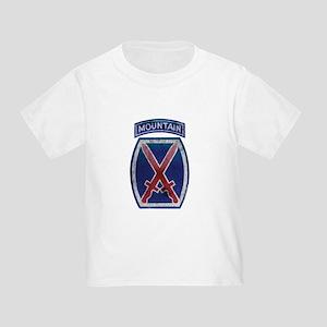 10th Mountain Division - Clim Toddler T-Shirt