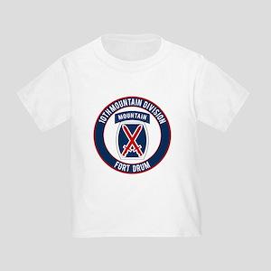10th Mountain Ft Drum Toddler T-Shirt