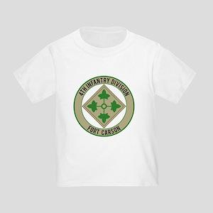 4th Infantry post Toddler T-Shirt