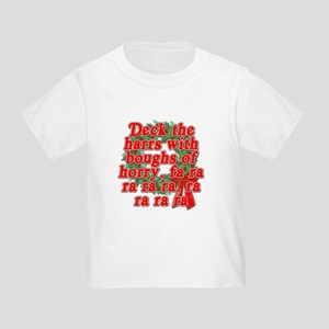Deck The Harrs - Christmas Story Chinese Toddler T