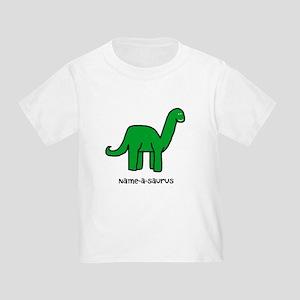 Name your own Brachiosaurus! Toddler T-Shirt