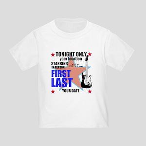 Music Poster Toddler T-Shirt