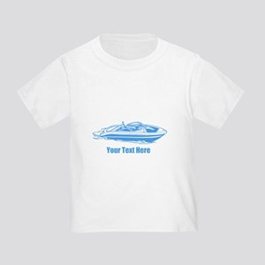 Motorboat. Add Your Text. Toddler T-Shirt