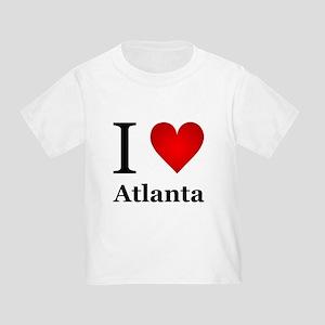 I Love Atlanta Toddler T-Shirt