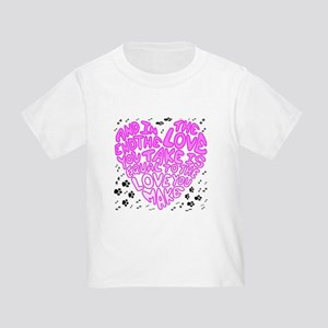 Equal to the Love you Make Toddler T-Shirt